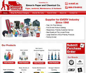 Webpage Design for Brooklyn NY Supplier