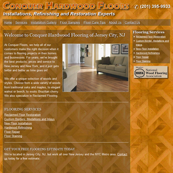 New website design for Jersey City Contractor