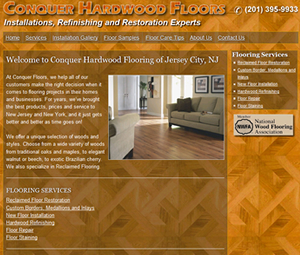 Jersey City Website Design for Contractor