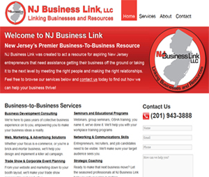 NJ Small Business Consultants Website Designers