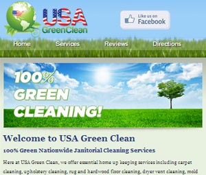 Website Design for Fort Lee, New Jersey Cleaning Service
