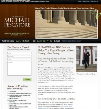 Lawyer Website Redesign