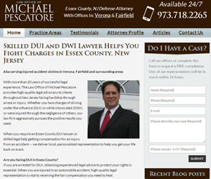Responsive Website Design for New Jersey Lawyer
