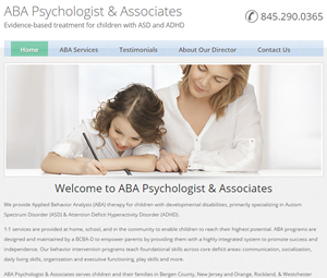 Website Design for Psychologist in Bergen County, NJ