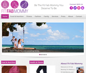 Blog Design for Hoboken, NJ Mommy