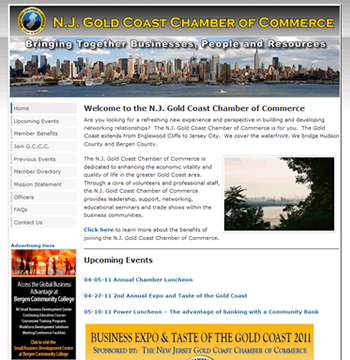 Chamber of Commerce Website Redesign
