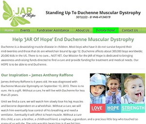 Website Redesign for New Jersey Charity