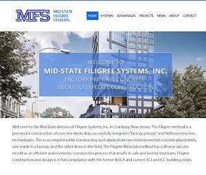Redesign of Website for Cranbury, NJ Construction Company