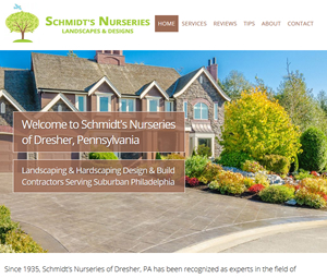 Dresher Landscaper Website