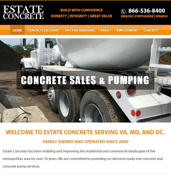 new site for D.C. contractors