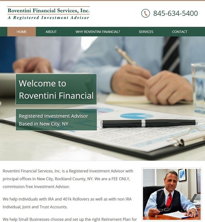 financial advisor site