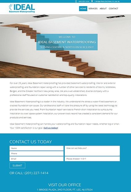 Website Design for Jersey City Contractor