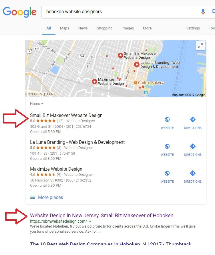 how to make your business appear on google