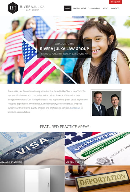 website for immigration attorney