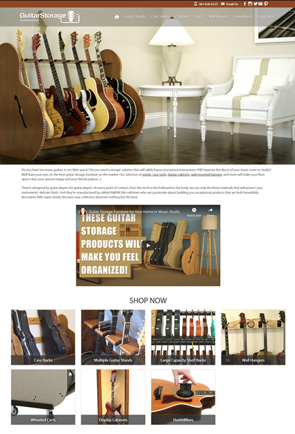 Instrument Retail Ecommerce Website