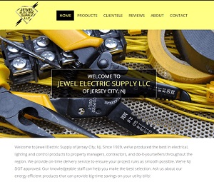 Upgraded Website for Jersey City B2B Supplier