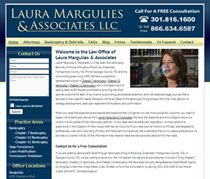 Maryland Attorney Website Redesign