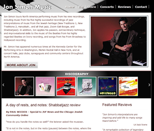 Musician Webpage Redesign