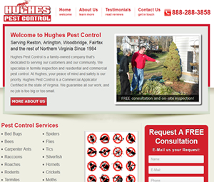New Webpage for VA Exterminator
