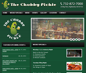 New Jersey Bar Website Design