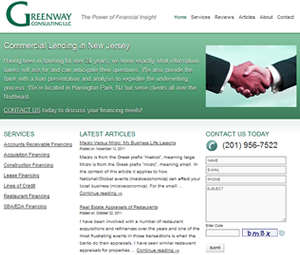 Website Redesign For NJ Commercial Lender