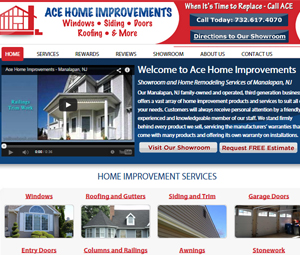 Website Redesign for Home Improvement Company in Manalapan, NJ