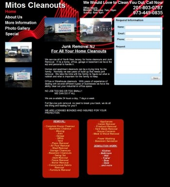 original Clifton, NJ business website design