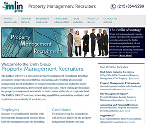 Website Re-Design for Pennsylvania Recruiters