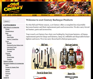 Redesign of PA BBQ Distributor Website