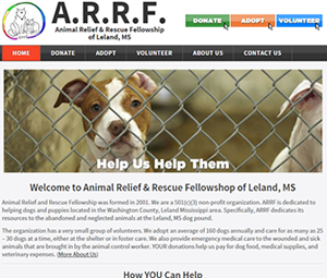 Animal Adoption & Rescue Webpage Remodel