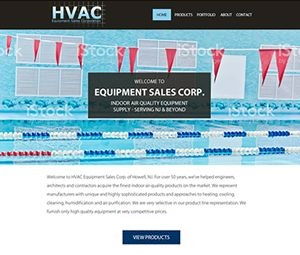 Redesign of Website for NJ Industrial Equipment Company