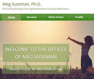 Here's a new site for a West Chester, NY Psychologist