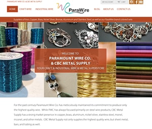 Craft Wire Biz Website