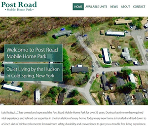 Mobile Home Park Gets A Website
