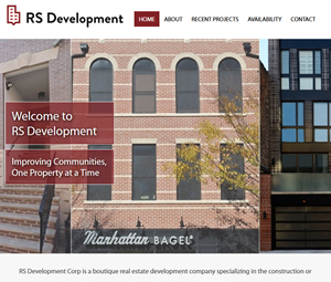 New Website for Hoboken Real Estate Developer