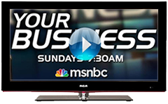 SBM featured on MSNBC's Your Business show