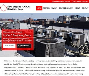 Webpage Overhaul for Local HVAC Contractors