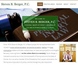 Upgraded Website for Philly Attorney