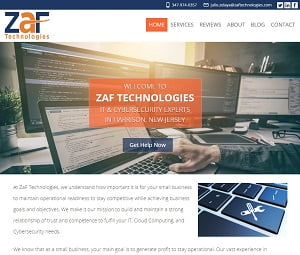 Webpage Overhaul For I.T. Company In Harrison, New Jersey