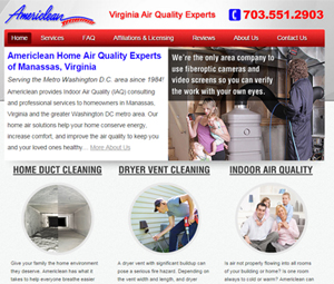 Website Redesign for Virginia Contractor
