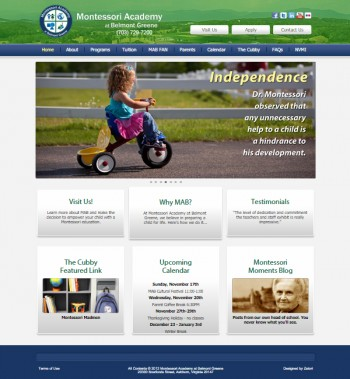 Original Website for Virginia School