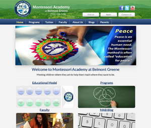 Ashburn, Virginia School Website Redesign