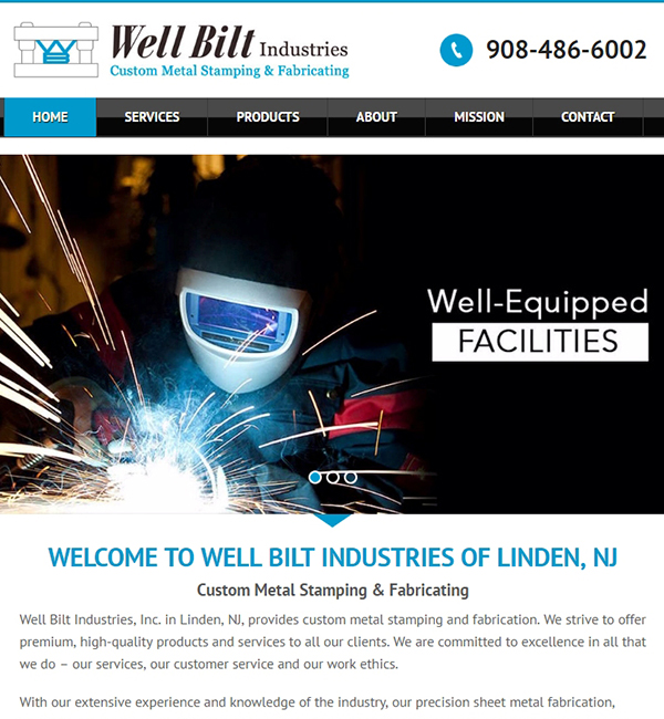 website development for Linden nj business