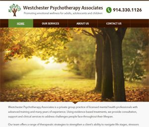 Webpage Development For Westchester, NY Therapists
